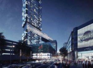 NuCLEus-Where does the most aspiring downtown project of Cleveland Stand?