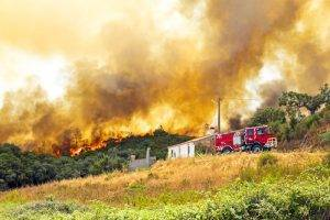 Wildomar Fire in Cleveland Grows to 700 Acres; 200 Homes Evacuated